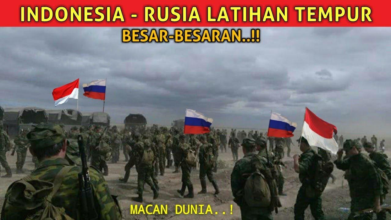 HeBoh..!! Rusia Siap Latihan Tempur Dengan Indonesia