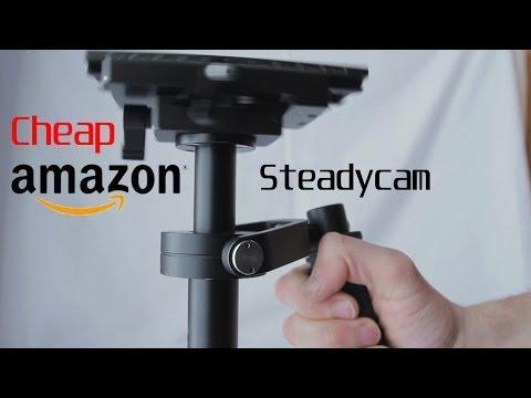 Cheap low budget Amazon Steadycam (Tarion) (Neewer) (IMORDEN)  (Sutefoto) Review