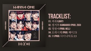 [Full Album] Wanna One (워너원) - 1÷x=1 UNDIVIDED