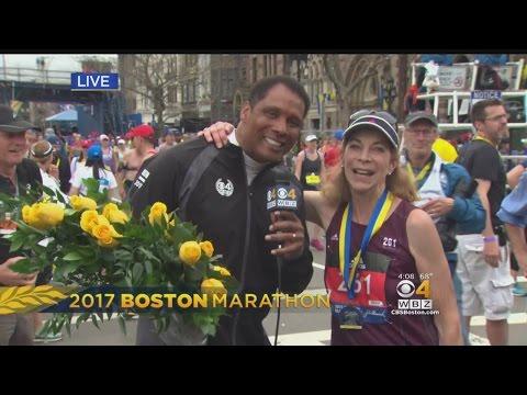 Kathrine Switzer Reflects After Finishing 2017 Boston Marathon