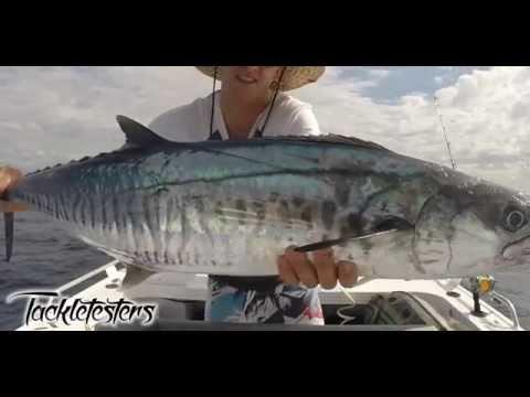 Tackletesters Fishing Gold Coast Seaway Australia Spanish Mackerel Trolling Casting Lures Big Fish