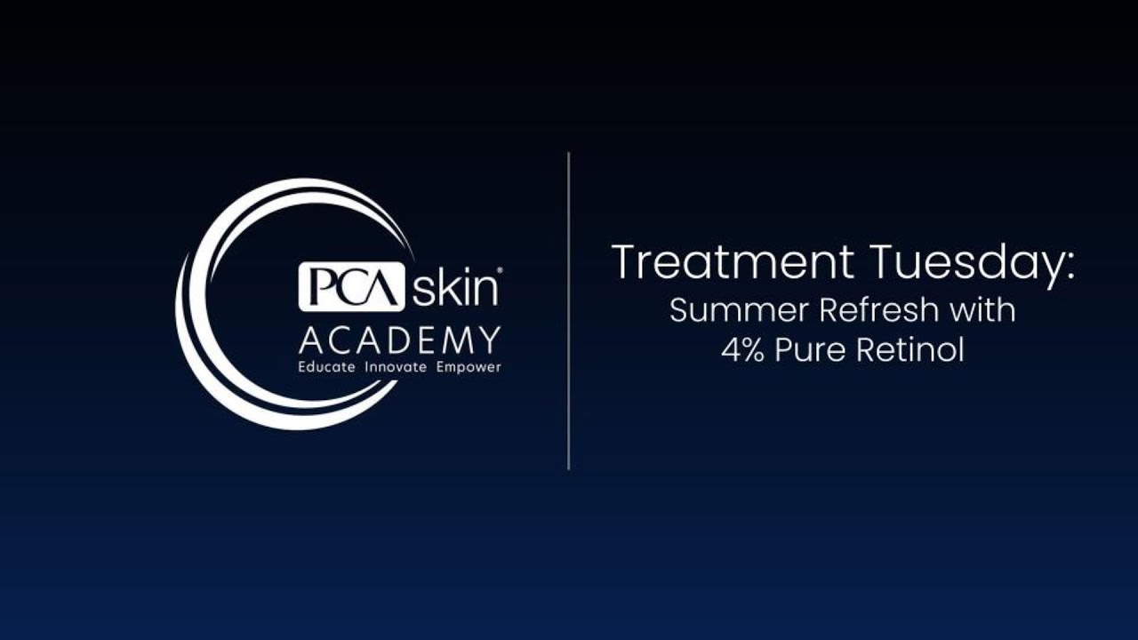 Click to open this video in a pop-up modal: Treatment Tuesday: Summer Refresh with 4% Pure Retinol Peel