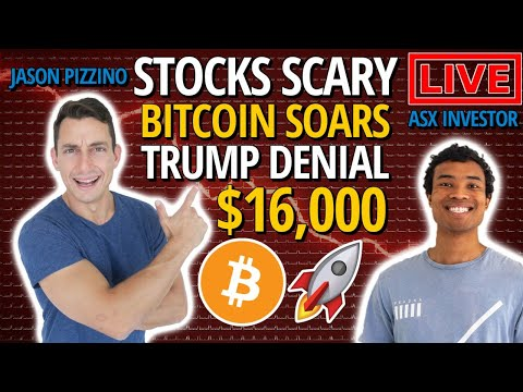 ASX STOCKS LIVE REVIEWS! BITCOIN BREAKS HIGHS! US STOCKS, CRYPTOCURRENCIES, GOLD AND MORE!