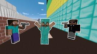 KÖTÜ ADAMLAR ZENGİNİ TEHDİT EDİYOR! 😱 - Minecraft