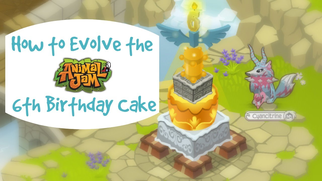 Animal Jam Birthday Cake Ideas Image Inspiration of Cake and