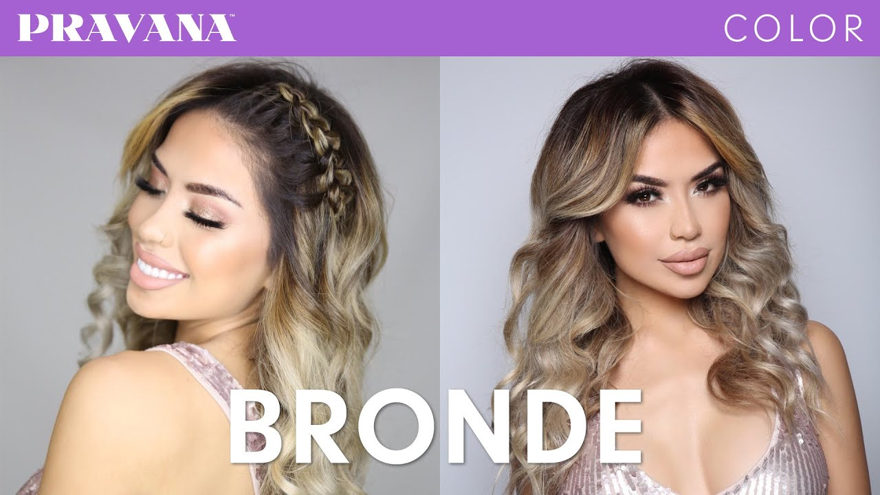 How To Bronde Hair Color With Iluvsarahii Youtube