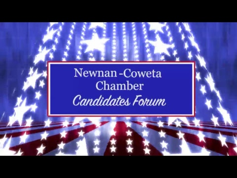 Newnan Coweta Chamber Of Commerce 2018 Candidates Forum
