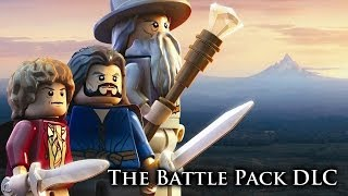 LEGO: The Hobbit - The Battle Pack DLC - Jeweled Mithril Armour, Lake-town Boots and more!