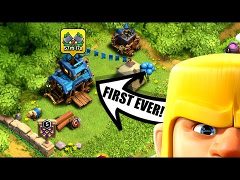 THE WORLDS FIRST CLAN GAMES!! - FREE MAGIC ITEMS , GEMS & MORE! - Clash Of Clans