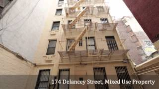 174 Delancey Street, Mixed Use Property