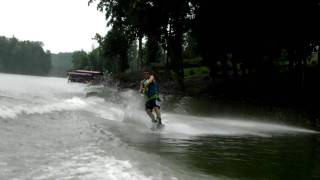 Wakeboarding backroll