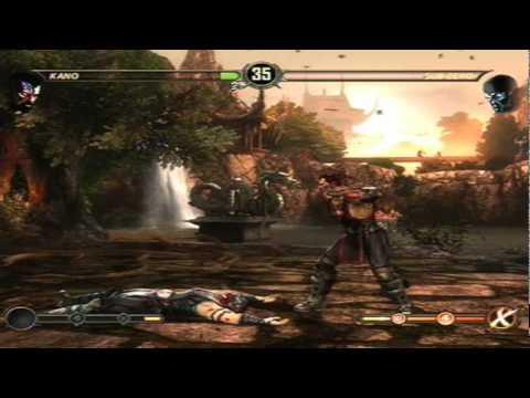 Mortal Kombat 9 - Kano (Arcade Ladder) [Expert] No Matches/Rounds Lost