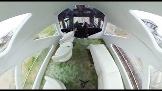 【360°VR動画】 豪華寝台列車「TRAIN SUITE 四季島」の展望車
