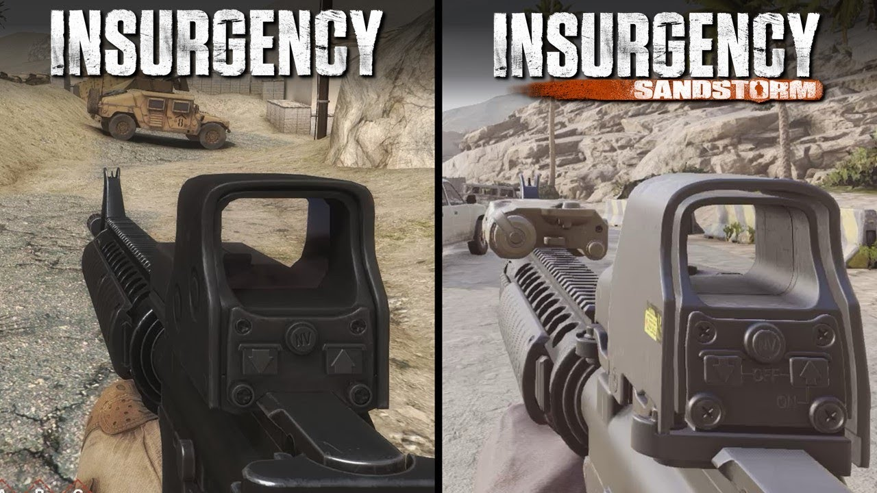 Insurgency vs Insurgency: Sandstorm | Direct Comparison