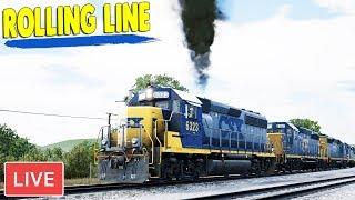 CSX Heavy Haul - US Freight Train Driving | Train Sim World Gameplay