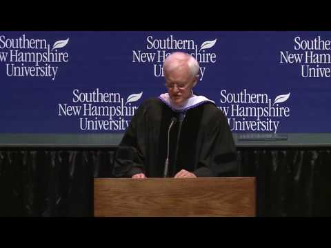 SNHU 2016 College of Online and Continuing Education | Speaker: Bob Kerrey