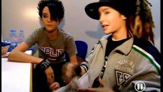 Tokio Hotel backstage The Dome 2.08.2005