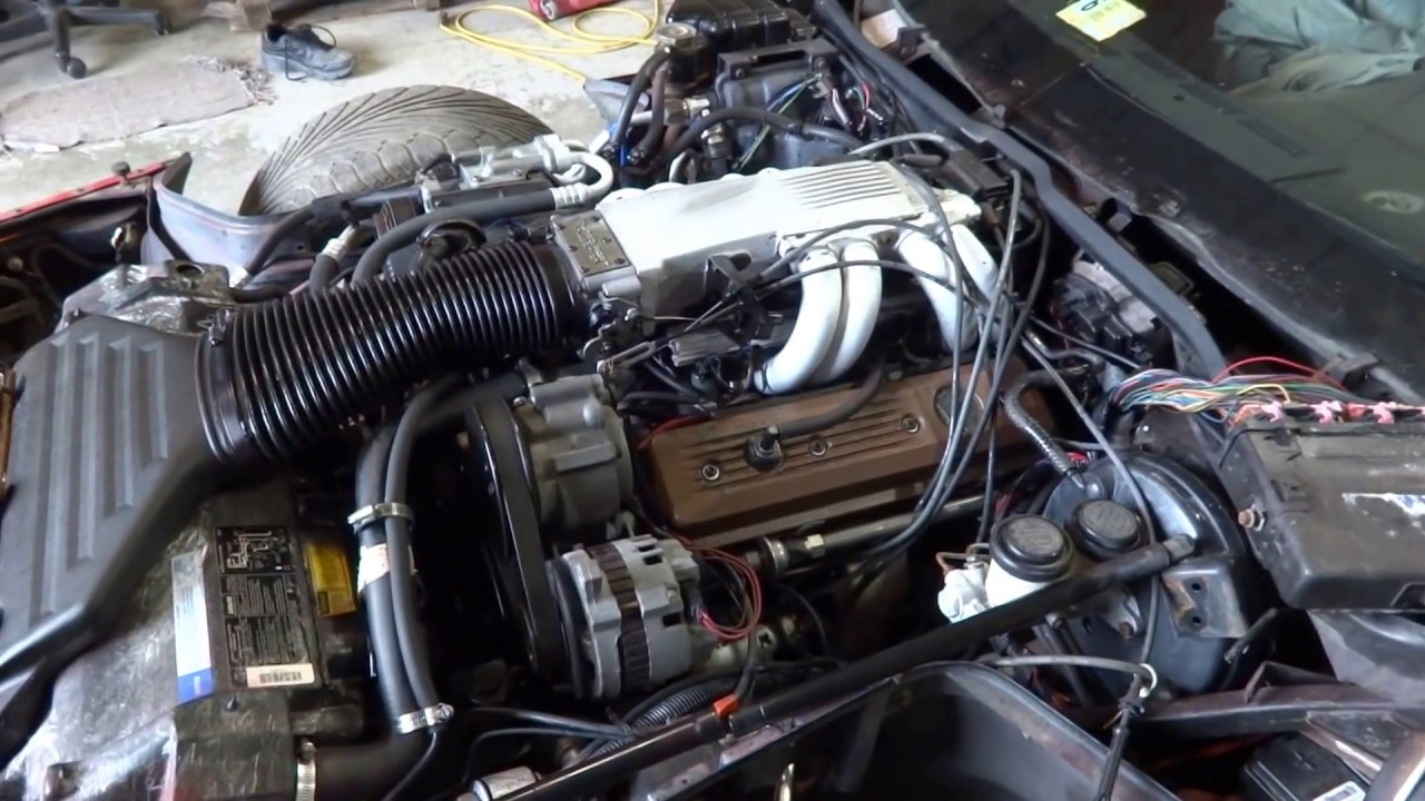 1990 C4 Corvette L98 Engine For Sale Youtube