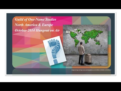 October 2014 - Guild North America & Europe Hangout