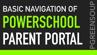 powerschool parent portal basic navigation