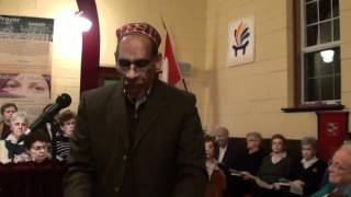 An Ahmadi represending Islam on World Prayer Day - Recited Holy Quran to start ceremony in a church