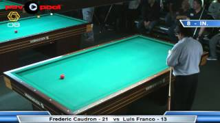 3-Cushion @ The Eightball - Frederic Caudron vs Luis Franco