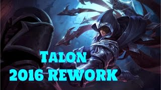 [LoL:PBE-6.22] Talon Rework Preview