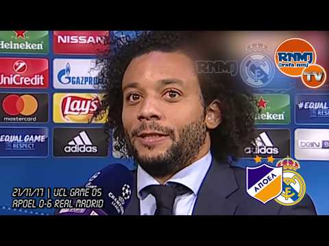 MARCELO post Apoel 0-6 Real Madrid | Champions League (21/11/2017)