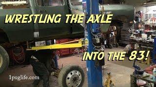 Front Axle Swap