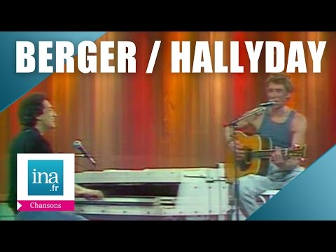 Michel Berger et Johnny Hallyday