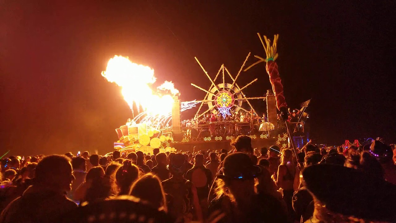 Burning Man 25/08/2019 [Event Guide]