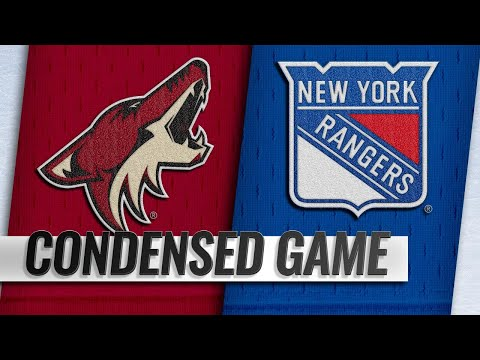 12/14/18 Condensed Game: Coyotes @ Rangers