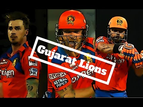 IPL-The gujarat lions (2016) squad New team