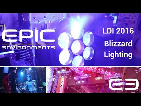 LED Stage Lighting for Churches, Clubs & More! - Blizzard Lighting  - LDI 2016