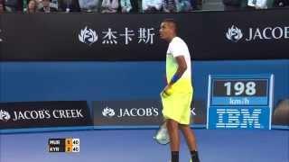 Kyrgios has Murray on his toes- Australian Open 2015