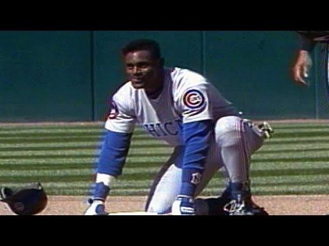 CHC@SF: Sammy Sosa steals his 30th base of 1993