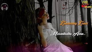 Ennavane Yennai Maranthathu Yeno song | female voice | tamil whatsapp status |