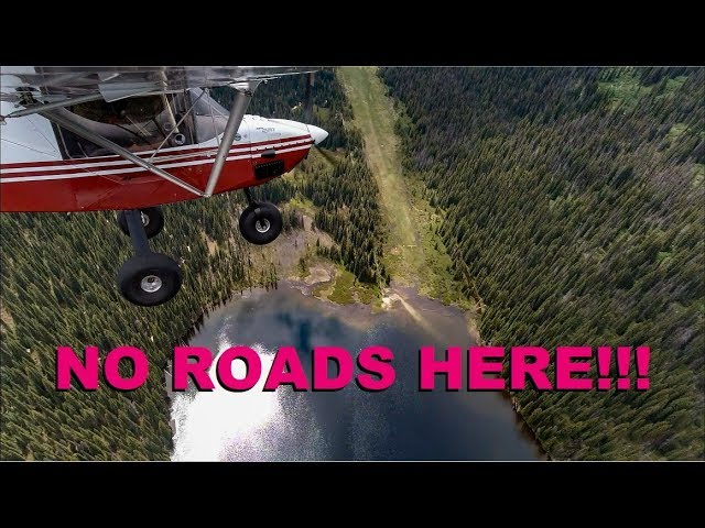 Approach & landing Fish Lake Idaho Backcountry Strip and the Departure - ft. DJI osmo action cameras