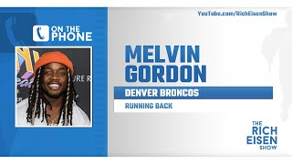 Broncos RB Melvin Gordon Talks Leaving Chargers & More with Rich Eisen | Full Interview | 3/31/20