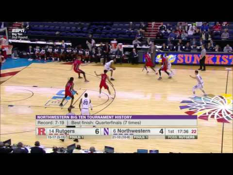 WIldcats Passing Leads to Slam vs. Rutgers