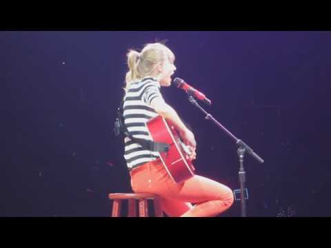 Taylor Swift : The RED Tour DVD-  Haunted Live In  Glendale
