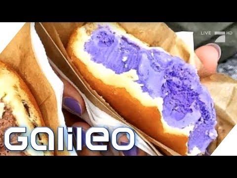 Eis im Donut - Der Trend des Sommers | Galileo | ProSieben