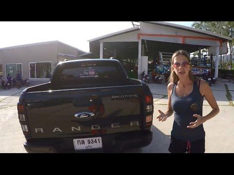 Обзор Ford Ranger в Таиланде и ответ Симонову