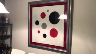 D.i.y $7.00 Modern Dinning Room Wall Art