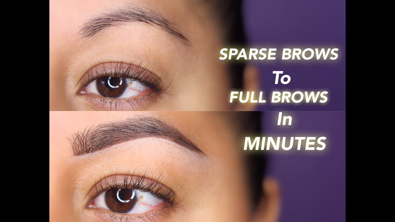 Diy Brow Extensions Youtube