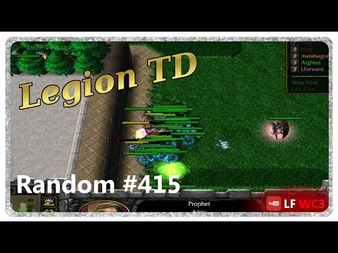Legion TD Random #415 | What A Great Game To Be Elite Archer