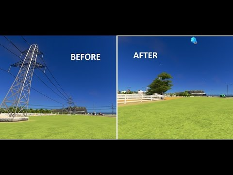 Cities: Skyline for Beginners Tutorial #48-UNDERGROUND POWER REPLACES TOWERS
