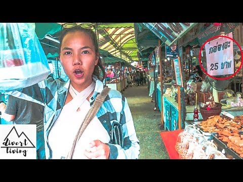 WHERE LOCALS GO IN THAILAND | HIDDEN DIRT CHEAP, TRAVELING PATHUMTHANI 2018 |