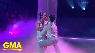 A shocking 'Dancing With the Stars' exit on 'Movie Night' l GMA
