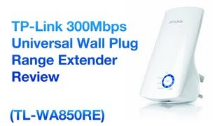 TP-Link Universal Wireless N Range Extender 300Mbps TL-WA850RE Unboxing & Review!